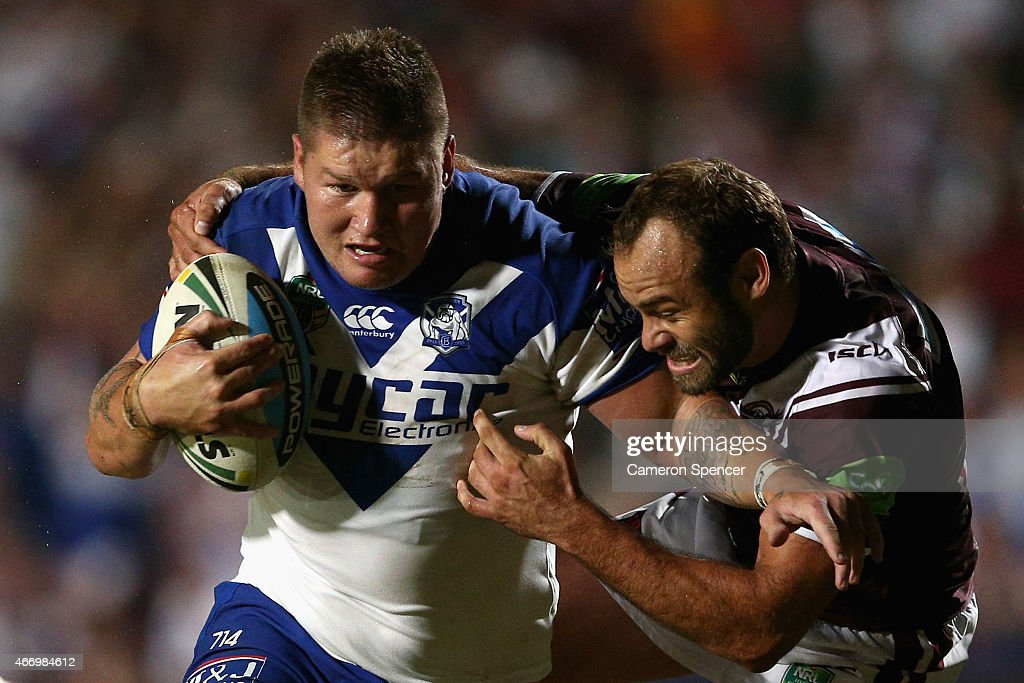 NRL Rd 3 - Sea Eagles v Bulldogs