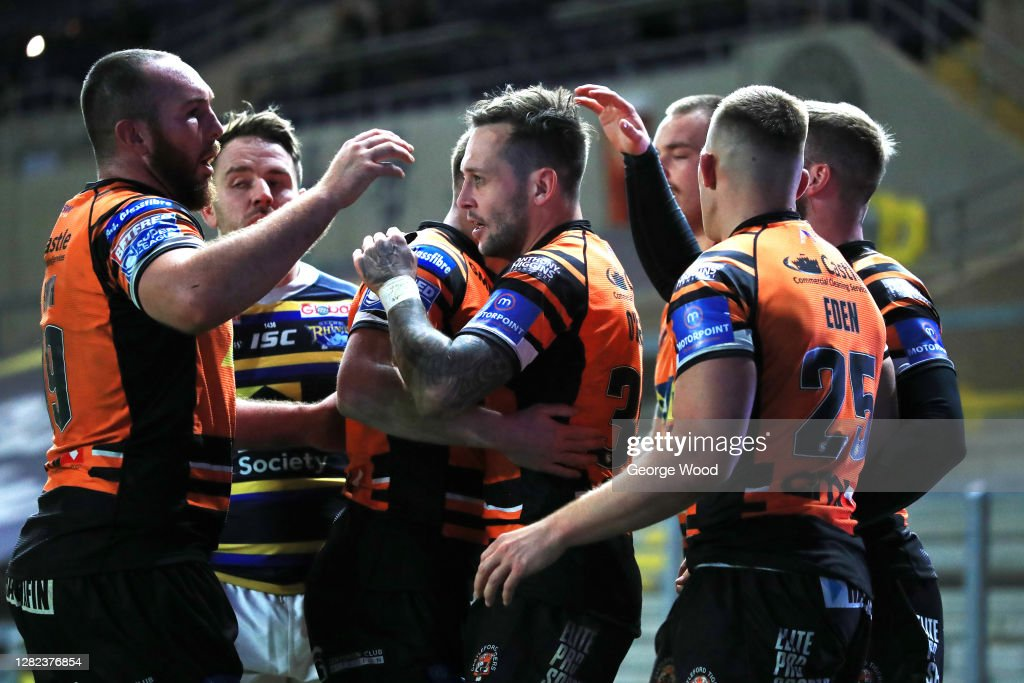 Leeds Rhinos v Castleford Tigers - Betfred Super League : News Photo