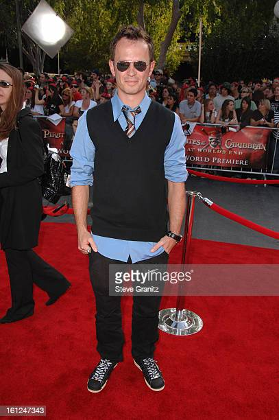 Greg Ellis during 'Pirates of the Caribbean At World's End' World Premiere Arrivals at Disneyland in Anaheim California United States