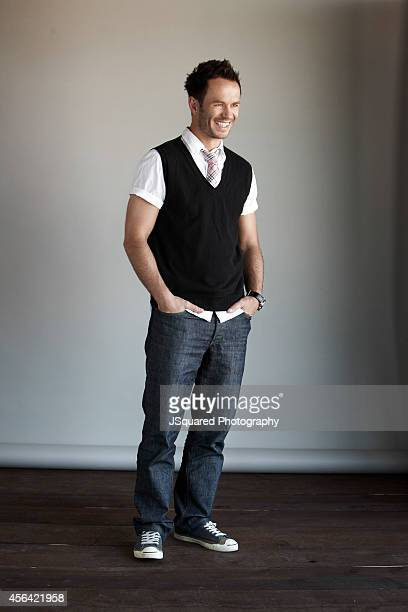 Greg Ellis is photographed for Self Assignment on March 13 2009 in Los Angeles California