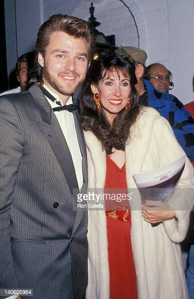 Greg Evigan and Pam Serpe at Chasen's Restaurant Chasen's Restaurant Beverly Hills
