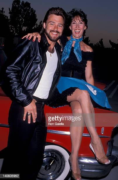Greg Evigan and Pam Serpe at the NBC Affiliates Party Century Plaza Hotel Century City