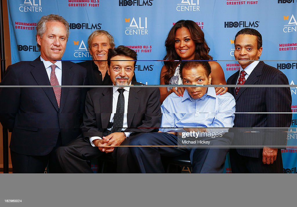 """HBO Films And The Muhammad Ali Center Co-Host The U.S. Premiere Of """"Muhammad Ali's Greatest Fight"""" : News Photo"""