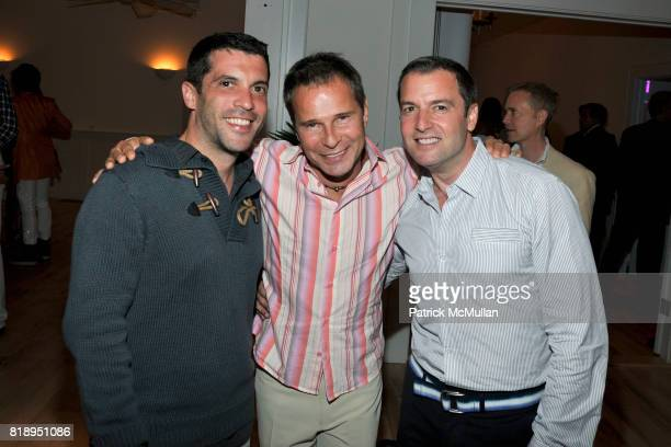 Greg Flood Francois Simard and Joel Isaacs attend MIRACLE HOUSE 20th Anniversary Memorial Day Summer Kickoff Benefit honoring Amy Chanos and Jim...