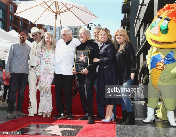 Greg Garcia David Arquette Beverly D'Angelo Sid Krofft Marty Krofft Maureen McCormick and Susan Olsen attend a Ceremony Honoring Sid And Marty Krofft...