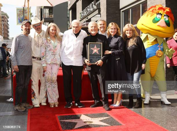 Greg Garcia David Arquette Beverly D'Angelo Sid Krofft Marty Krofft Maureen McCormick Christopher Knight and Susan Olsen attend the ceremony honoring...