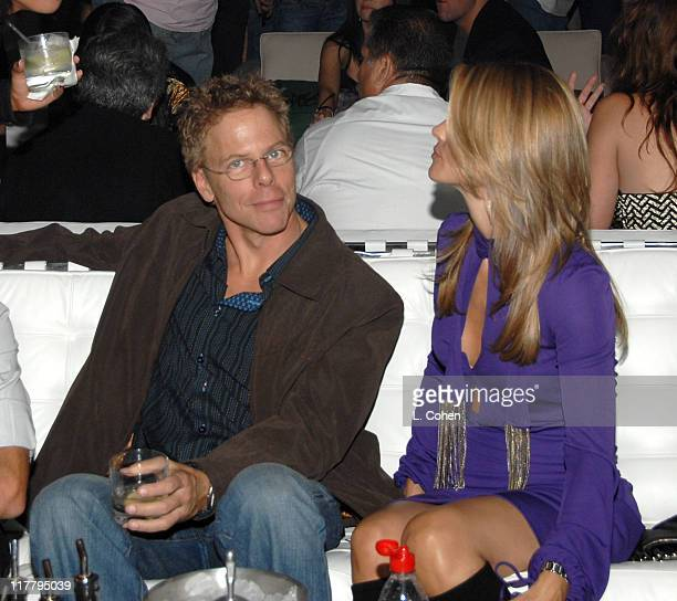 Greg Germann and Lori Loughlin during Target Hosts LA Fashion Week Party for Designer Mossimo Giannulli Inside at Area in West Hollywood California...