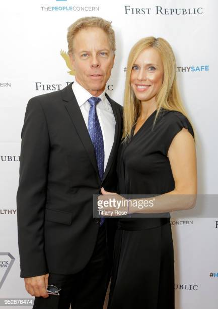 Greg Germann and Martha Champlin attend The People Concern's Celebrating Change Gala at Casa Vertigo on April 29 2018 in Los Angeles California