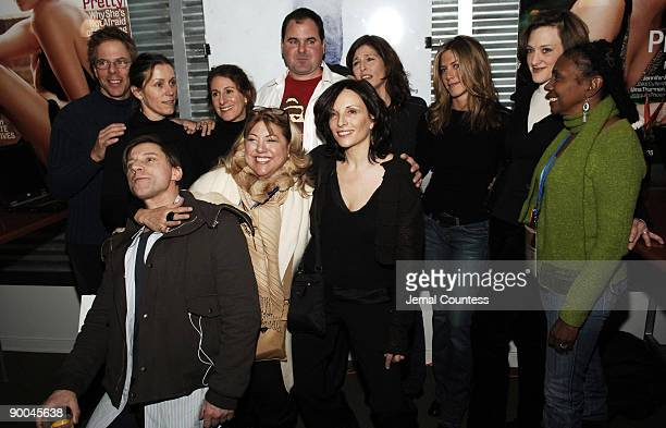 Greg Germann Frances McDormand Nicole Holofcener director of Friends with Money Bob Stephenson Catherine Keener Jennifer Aniston Joan Cusack Candace...