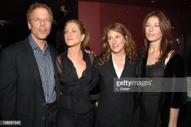 Greg Germann Jennifer Aniston Nicole Holofcener and Catherine Keener