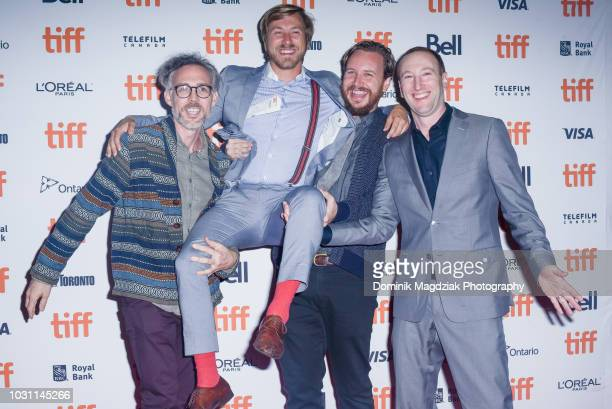Greg Gilreath David Grove Churchill Viste Adam Hendricks and Zac Locke attends the Midnight Madness red carpet premiere for The Wind during the...