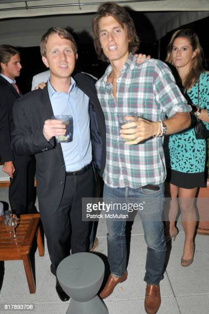 Greg Golkin and Thomas HurleyHolmes attend ASSOCIATION to BENEFIT CHILDREN Junior Committee Fundraiser at Gansevoort Hotel on September 14 2010 in...