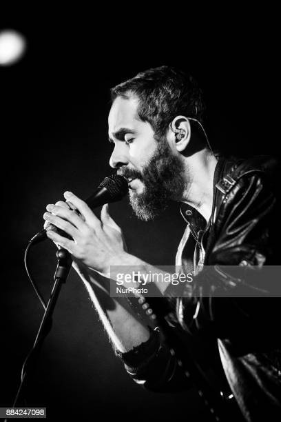 Greg Gonzalez of the american ambient pop band Cigarettes After Sex performing live at Fabrique in Milan Italy on 1st December 2017
