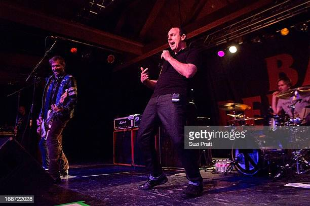 Greg Graffin of Bad Religion performs live at The Showbox on April 15 2013 in Seattle Washington