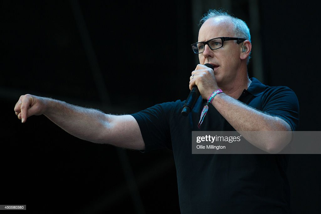 Greg Graffin of Bad Religion performs on stage at Download