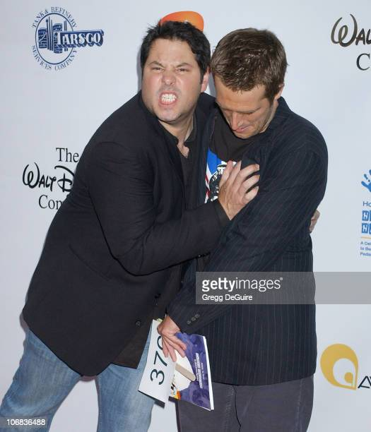 Greg Grunberg and Michael Vartan during 'Hollywood's Helping Hands' Benefit to Raise Funds for Epilepsy Awareness June 2 2005 at Avalon in Hollywood...