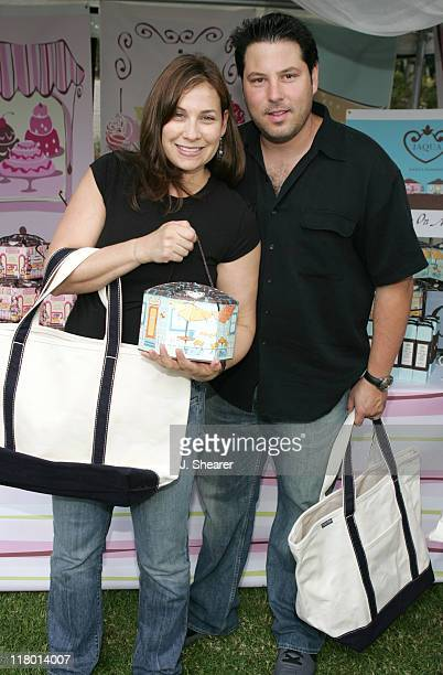 Greg Grunberg and wife Elizabeth at Jaqua during Silver Spoon Hollywood Buffet Day One at Private Estate in Los Angeles California United States...