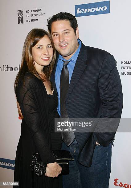 Greg Grunberg and wife Elizabeth Dawn Wershow arrive to the 11th Annual Hollywood Legacy Awards held at The Esquire House on November 1 2008 in Los...