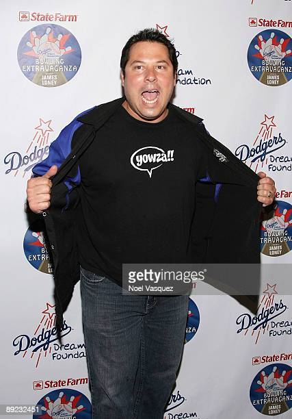 Greg Grunberg attends the 5th annual state farm Dodgers Dream Foundation bowling extravaganza at Lucky Strike Lanes on July 23 2009 in Los Angeles...