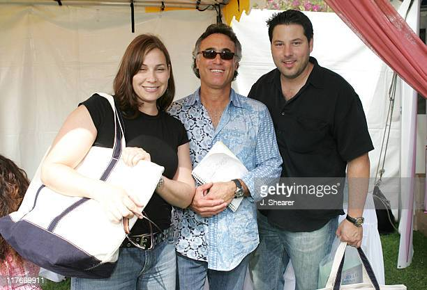 Greg Grunberg guest and wife Elizabeth during Silver Spoon Hollywood Buffet Day One at Private Estate in Los Angeles California United States Photo...