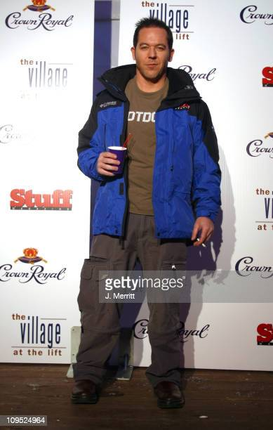 Greg Guttfeld Editor in Chief of Stuff Magazine during 2003 Park City Crown Royal Day Two at The Village at The Lift in Park City Utah United States