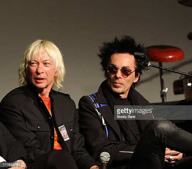 Greg Hawkes and Earl Slick attend the 35th Anniversary of The Fest For Beatles Fans celebration at the Crowne Plaza Meadowlands on March 27 2009 in...