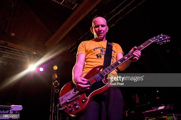Greg Hetson of Bad Religion performs at The Showbox on April 15 2013 in Seattle Washington