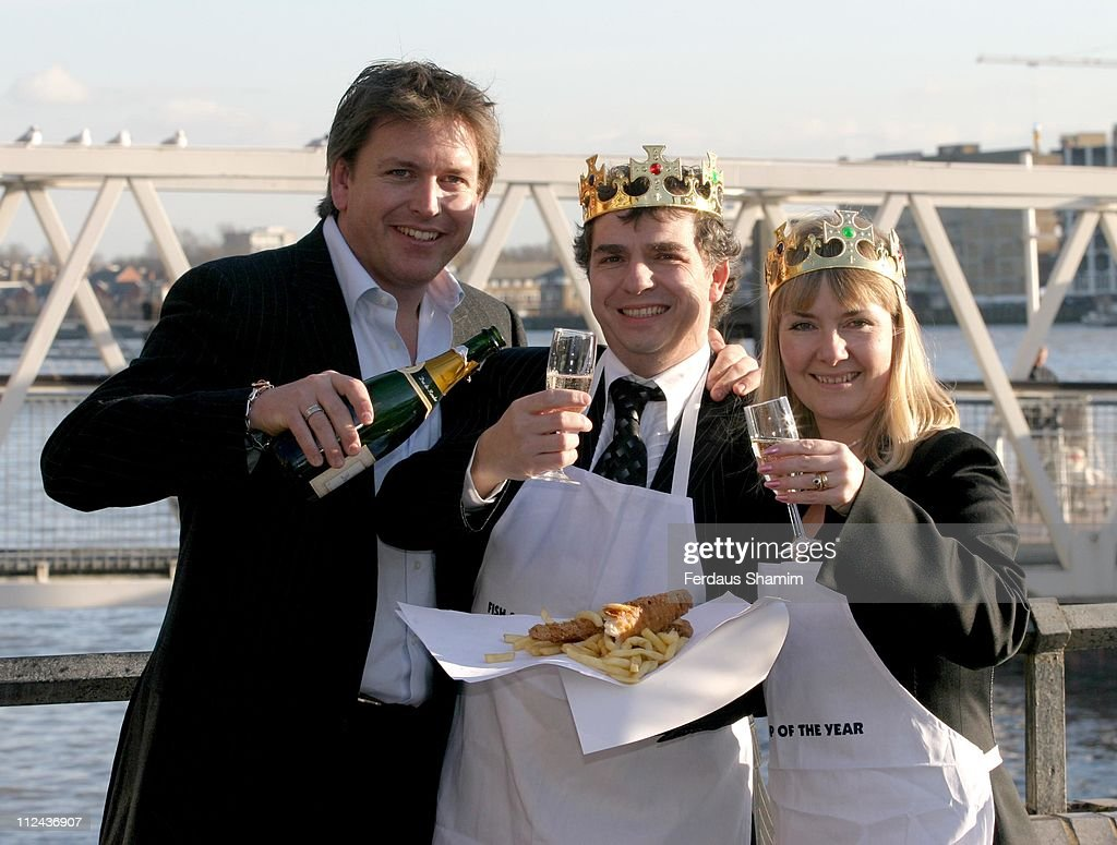 Fish and Chips Shop of the Year 2005 - Photocall