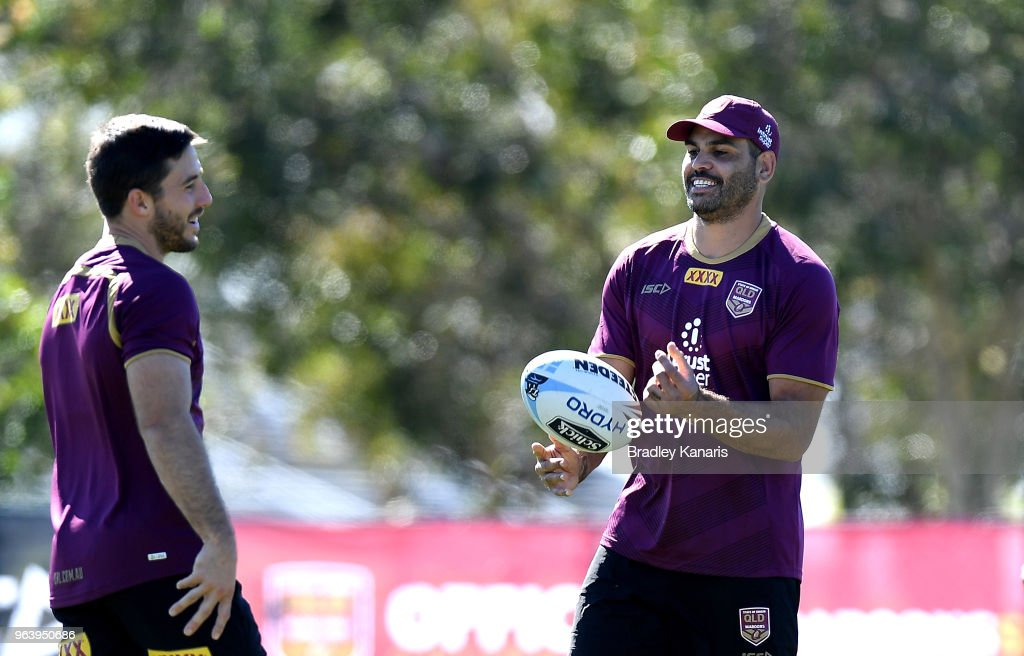 Queensland Maroons Media Opportunity & Training Session