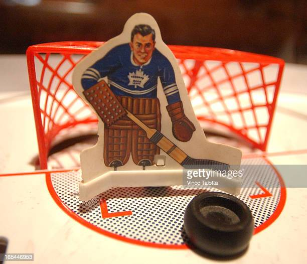 GRE PEDEN 4/2/03 Greg is the Wayne Gretzky of table hockey and is competing in big Toronto tournament this weekend He also has the largest collection...