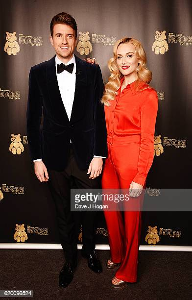 Greg James and Fearne Cotton support BBC Children in Need Rocks for Terry at Royal Albert Hall on November 1 2016 in London England