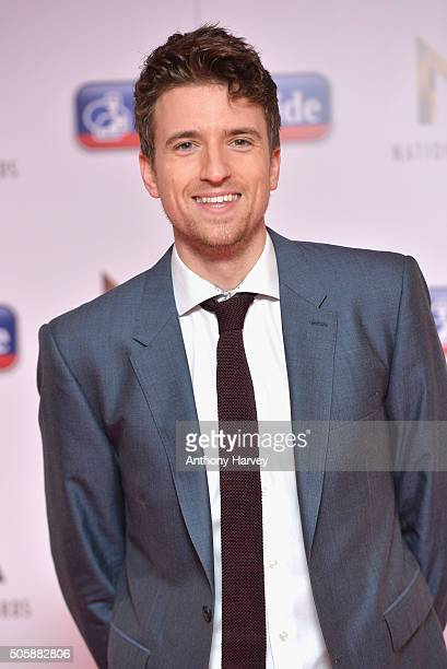 Greg James at the 21st National Television Awards at The O2 Arena on January 20 2016 in London England