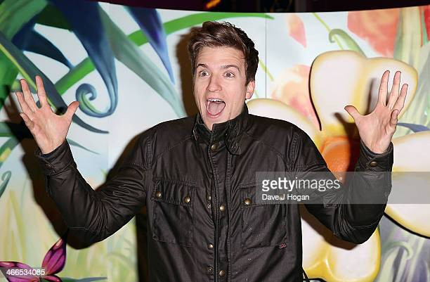 Greg James attends a VIP Gala screening of 'Tinker Bell and the Pirate Fairy' at Vue West End on February 2 2014 in London England