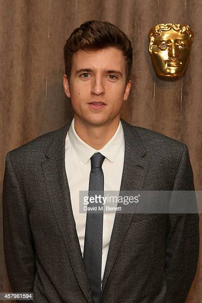 Greg James attends the BAFTA Breakthrough Brits party at Burberry on October 27 2014 in London England