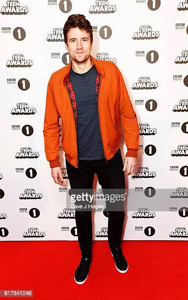 Greg James attends the BBC Radio 1's Teen Awards at SSE Arena Wembley on October 23 2016 in London England