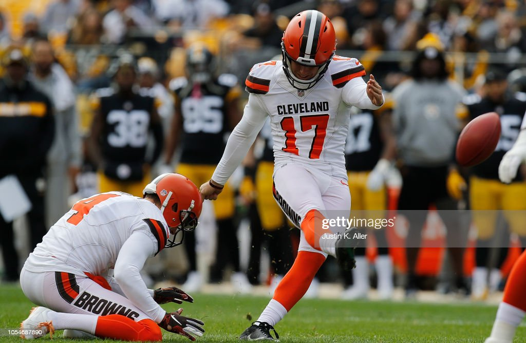 Cleveland Browns v Pittsburgh Steelers : Fotografia de notícias