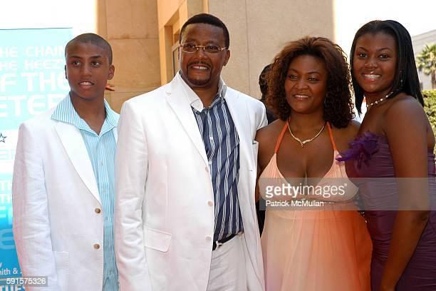 Greg Judge Mathis Linda and Camara attend 2005 BET Awards at Kodak Theater on June 28 2005