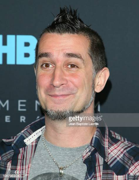 Greg K of the band Offspring attend HBO's 'Momentum Generation' premiere held at The Broad Stage on November 05 2018 in Santa Monica California