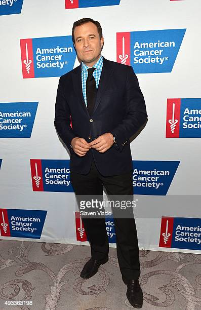 Greg Kelly attends American Cancer Society's 20th Anniversary Mothers of the Year luncheon at The St Regis New York on October 19 2015 in New York...