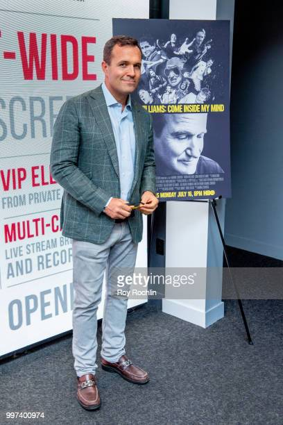Greg Kelly attends 'Robin Williams Come Inside My Mind' New York Premiere at The Robin Williams Center on July 12 2018 in New York City