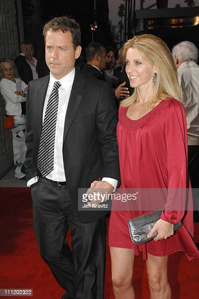 Greg Kinnear and Helen Labdon arrive at the Feast of Love premiere at The Academy of Motion Picture Arts and Sciences on September 25 2007 in Los...