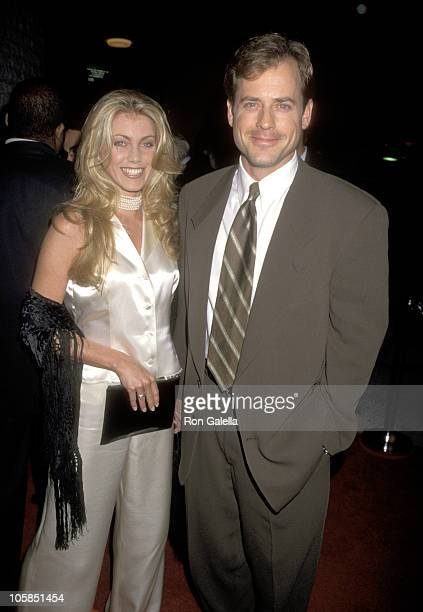 Greg Kinnear and Helen Labdon during Sabrina Los Angeles Premiere at Mann's National Theater in Westwood California United States