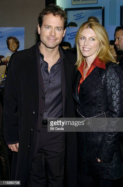 Greg Kinnear and Helen Labdon during Stuck on You New York Premiere at The Clearview Chelsea West Theater in New York City New York United States