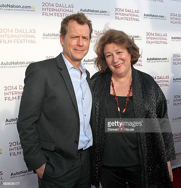 Greg Kinnear and Margo Martindale attend the Dallas International Film Festival World Premiere of TriStar Pictures' Heaven Is For Real at Cinemark...
