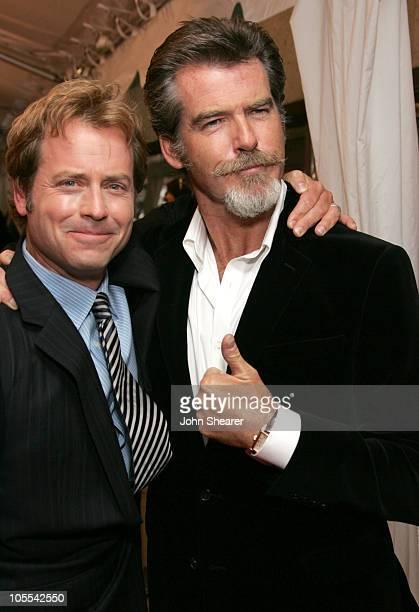 "Greg Kinnear and Pierce Brosnan during 2005 Toronto Film Festival - ""The Matador"" Premiere at Roy Thompson Hall in Toronto, Canada."