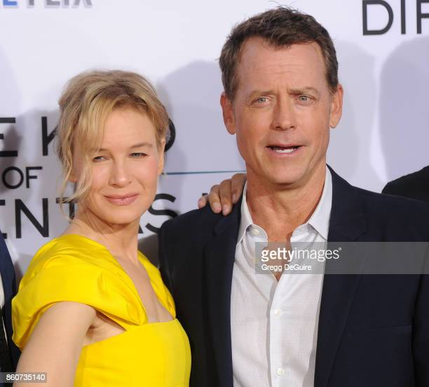 Greg Kinnear and Renee Zellweger arrive at the premiere of Paramount Pictures and Pure Flix Entertainment's 'Same Kind Of Different As Me' at...