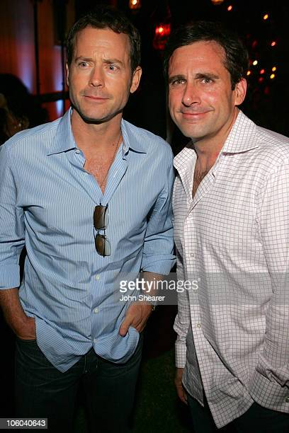 "Greg Kinnear and Steve Carell during 2006 Los Angeles Film Festival - ""Little Miss Sunshine"" After Party at Wadsworth Theater in Westwood,..."