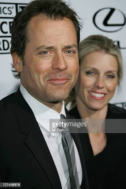 Greg Kinnear and wife Helen Labdon during Lexus Hosts 12th Annual Critics' Choice Awards After Party at Viceroy Hotel in Santa Monica California...