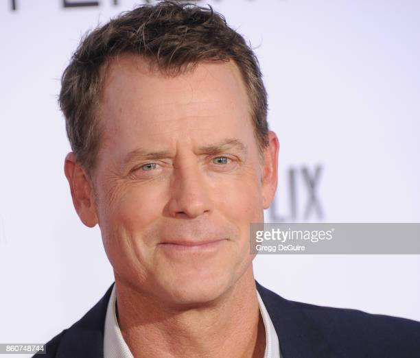 "Greg Kinnear arrives at the premiere of Paramount Pictures and Pure Flix Entertainment's ""Same Kind Of Different As Me"" at Westwood Village Theatre..."