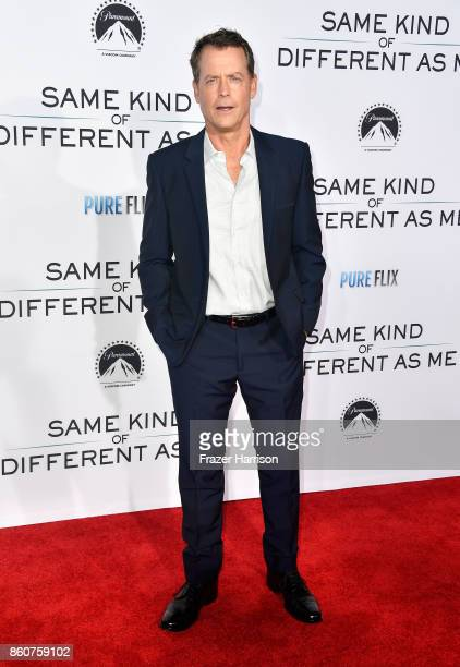 Greg Kinnear arrives at the Premiere Of Paramount Pictures And Pure Flix Entertainment's 'Same Kind Of Different As Me' at Westwood Village Theatre...